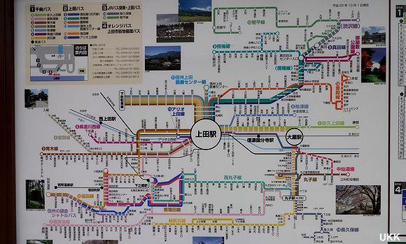 上田バス 全路線紹介 (上田駅)